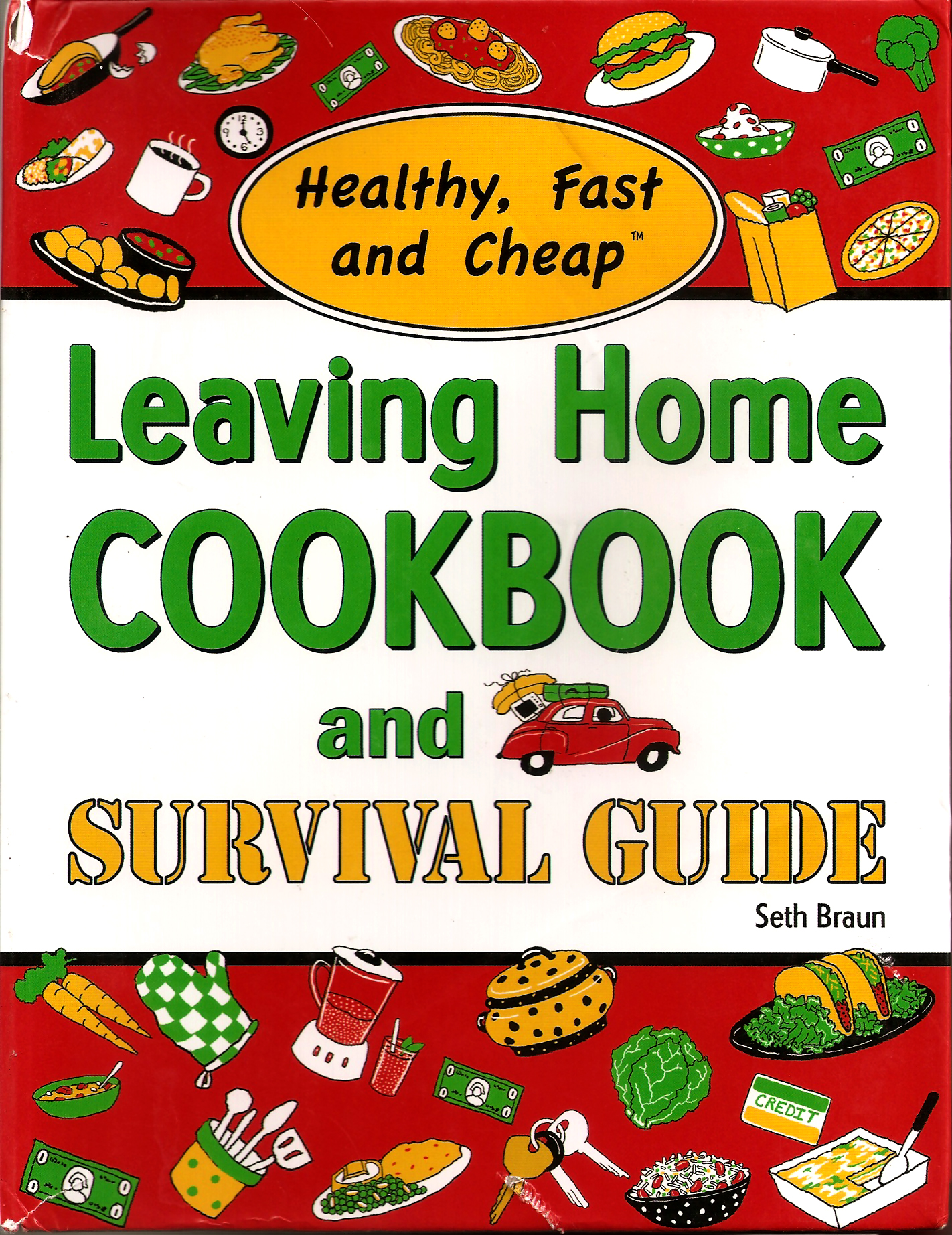 leaving home cookbook
